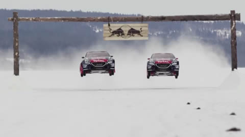 Rallycross on Ice