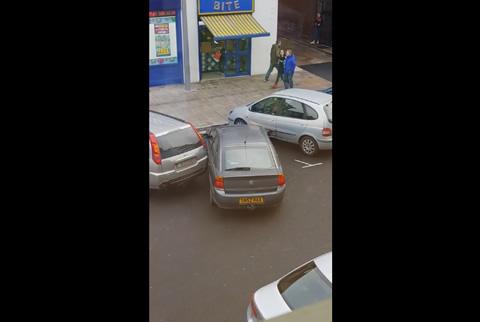 Terrible Parking Job