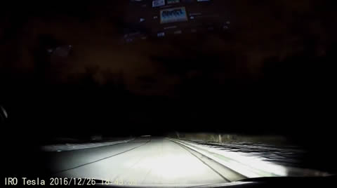 Tesla Autopilot Driving Autonomously