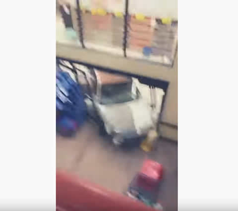 Car Crashes Through Grocery Store in Columbia Falls