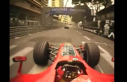 F1 Monaco Onboard 1950 - 2015