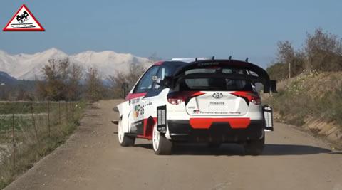 Parody Test Ogier - Ingrassia Toyota Yaris WRC 2020