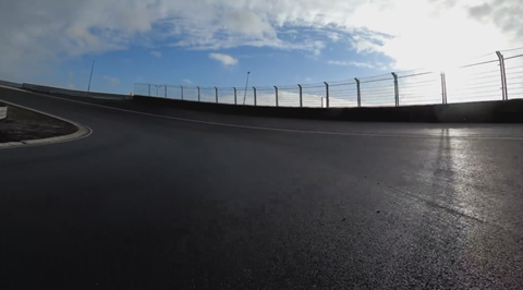 F1 Circuit Zandvoort - Full circuit lap with car