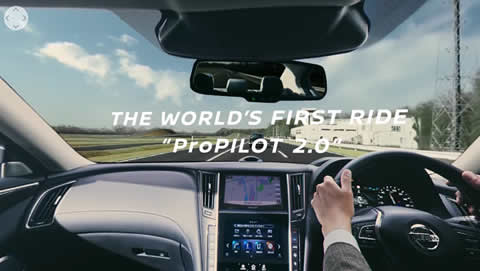 WORLD'S FIRST RIDE ProPILOT 2.0