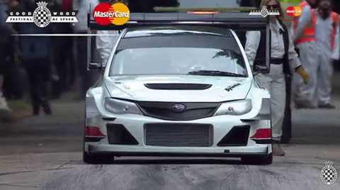 780hp Subaru Impreza's FOS Winning Run!