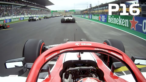 Kimi Raikkonen's Incredible Race Start