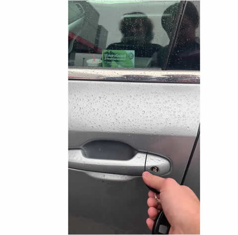 Car Keys Mysteriously Start Car While Manually Unlocking