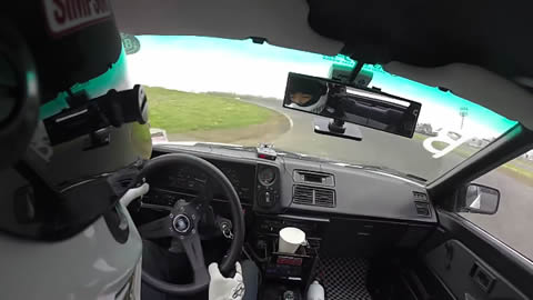 AE86 Paper Cup Drifting