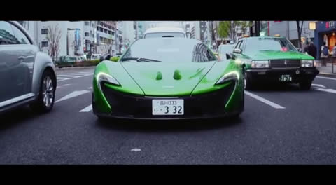 All in a Day's Work - McLaren P1