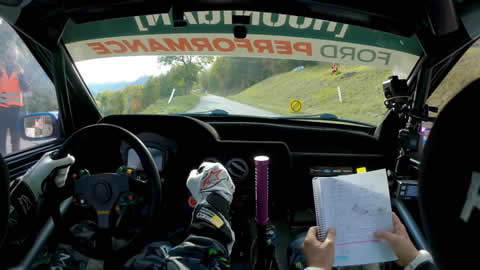 Ken Block Swiss Alps Raw Onboard Rally Stage