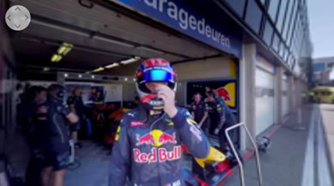 On board with Max Verstappen for a 360