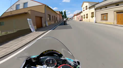 Real Road Racing POV On A Fast R6