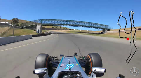 Ride Onboard as Esteban Gutierrez