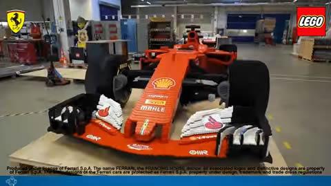 Scuderia Ferrari SF70H - LEGO Speed Champions