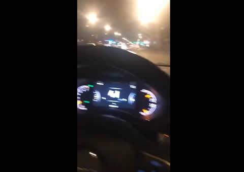 Car Turns Itself Into Mobile Cinema