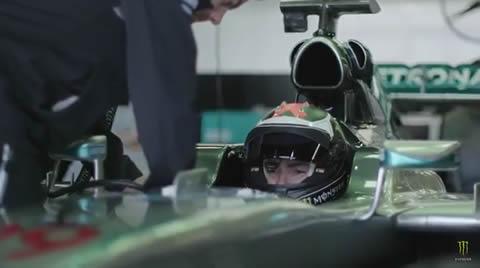 Jorge Lorenzo drives the MERCEDES F1