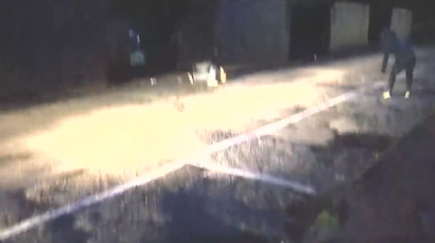 Imaginary Rope Prank Causes Car Crash