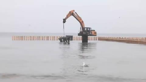 Special Excavator for Underwater Work