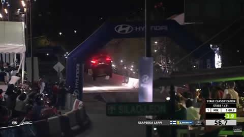 WRC - Rally Guanajuato México 2019 Lappi on SS1