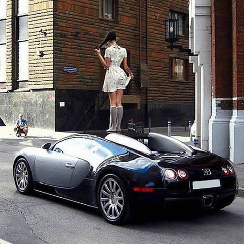veyron_on_girl