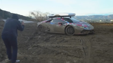 800HP LAMBO GOES OFF-ROADING