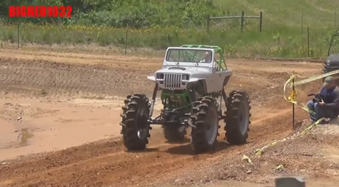 2000 horsepower farm jeep destroys WGMP