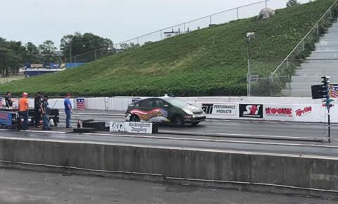 HELLCAT PRIUS SRT8 HITS THE TRACK