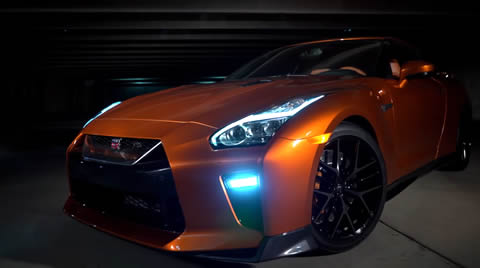 Nissan GT-R armed with a fresh new look