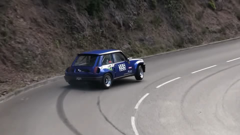 Renault 5 Turbo CRAZY Driving
