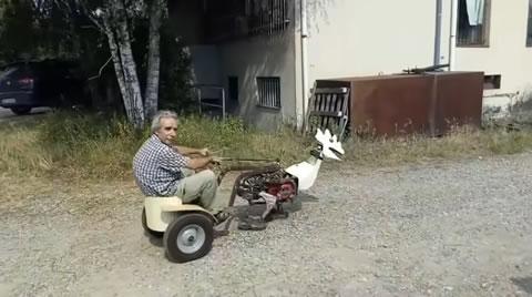 Walking machine test