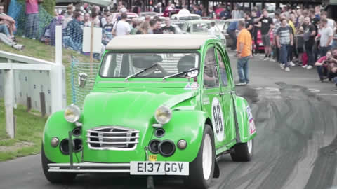 Citroen 2CV with Supercharged BMW GS1200 Swap