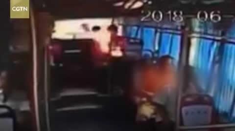 Passenger's portable power bank explodes