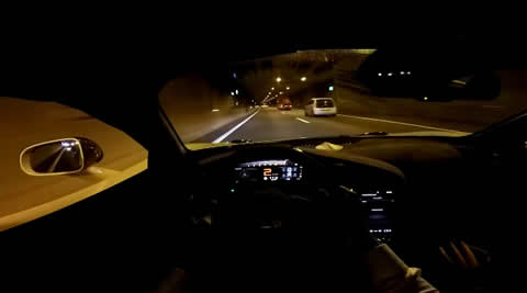 POV Drive Novitec McLaren 720S TUNNELRUN