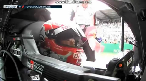 Fernando Alonso 24hrs Lemans Victory lap With Car No 8 - 2018