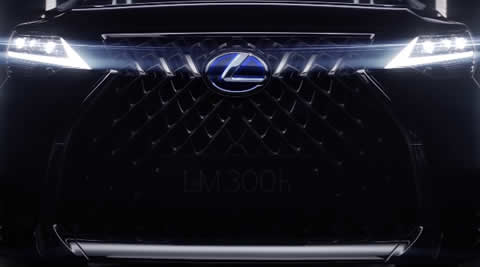 Introducing the Lexus LM