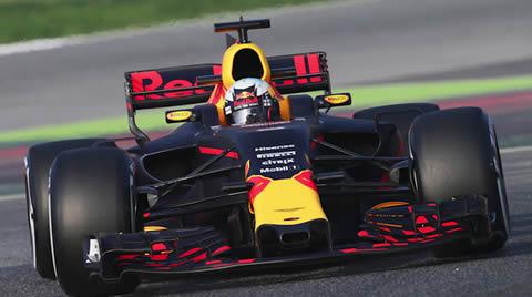 F1 2017 Test Barcelona DIA 1