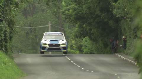 Subaru WRX TT Attack car smashes Isle of Man TT car lap record