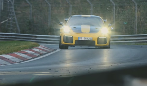 Porsche sets a world record on the Nürburgring Nordschleife