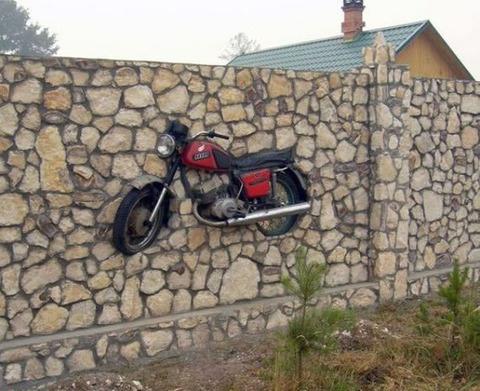 wallbike
