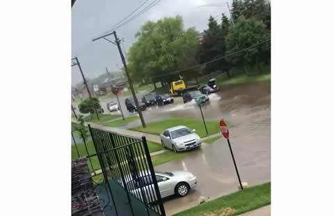 Strange Weather Makes for Strange Traffic