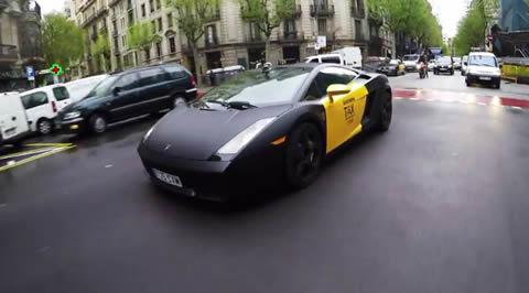 Lamborghini Taxi Barcelona