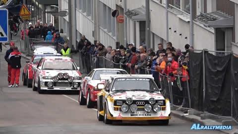 WRC Finland 2021 Historic Car Parade at SS1 Harju