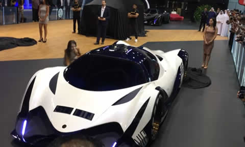 Devel Sixteen a 5000hp Dubai International Motor Show 2017