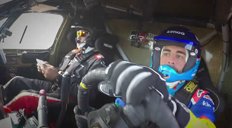 Fernando Alonso Dakar Hilux Test Review