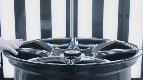The new 20-inch 911 Turbo Carbon Wheel