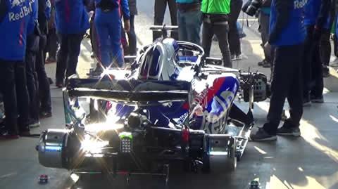 F1のエンジン始動は今こうなっている!?Honda Racing THANKS DAY in Motegi トロ・ロッソ・STR13