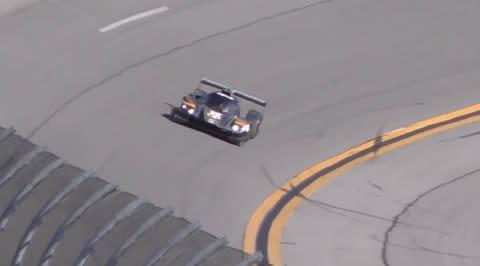 New Mazda DPi Testing at Daytona