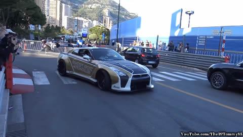 Nissan R35 GT-R Compilation in Monaco 2017