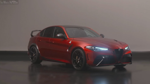 The new Alfa Romeo Giulia GTA