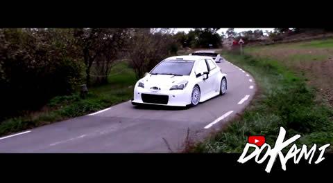 Toyota Yaris WRC 2017 Tarmac Test